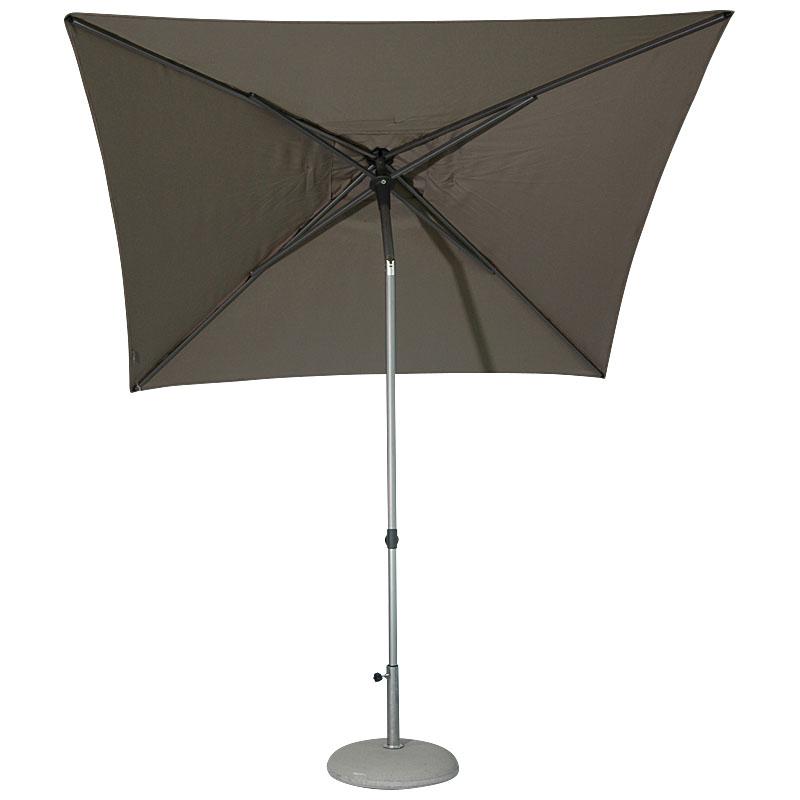 250 x 200 cm rechteckig balkonschirm solvida push gre solpush250200. Black Bedroom Furniture Sets. Home Design Ideas