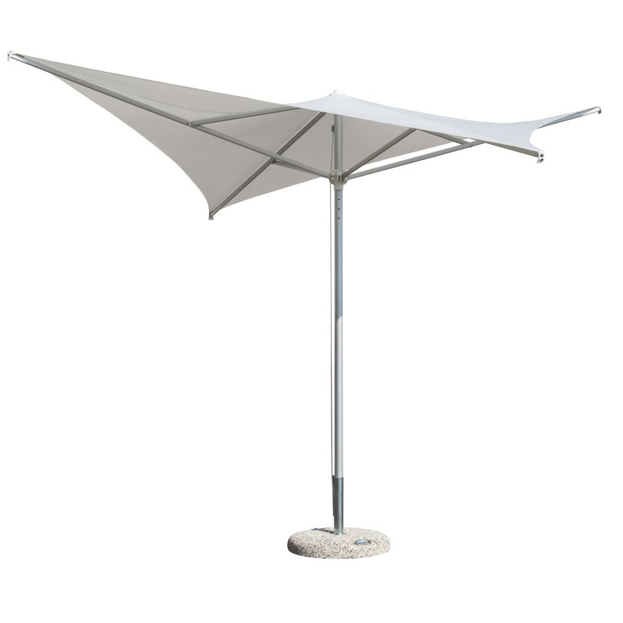 Design Sonnenschirm | 300 X 300 Cm Design Sonnenschirm Roma Alu Ora Roma300300