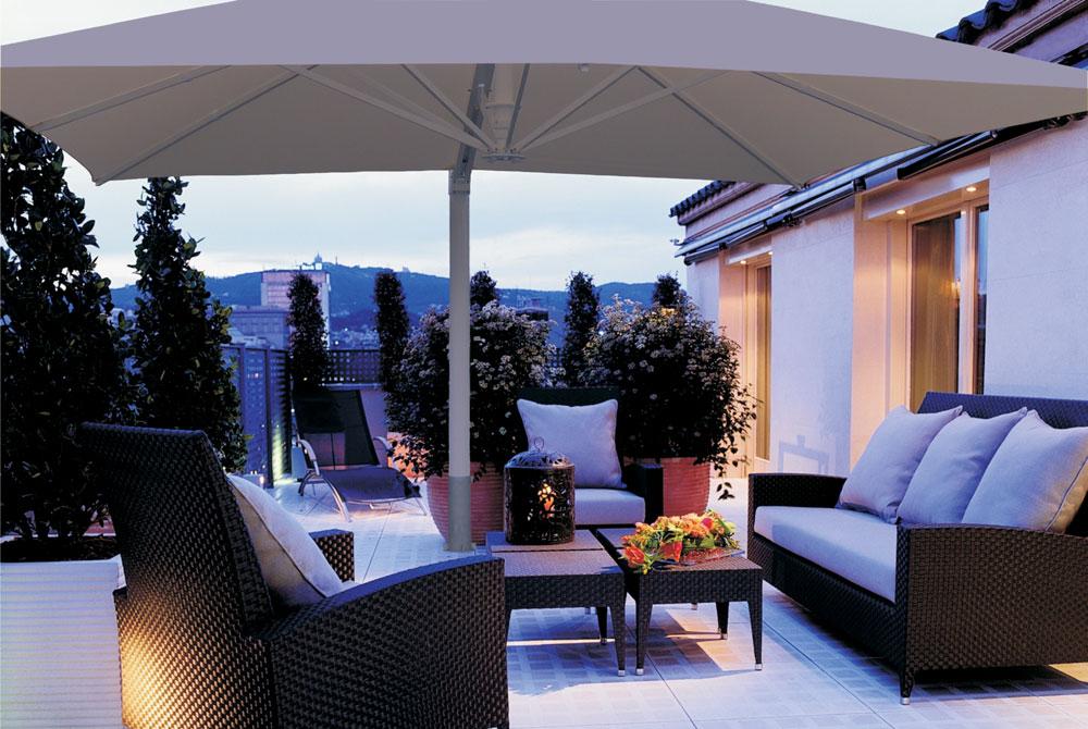 ampelschirm rechteckig great m x m ampelschirm with. Black Bedroom Furniture Sets. Home Design Ideas